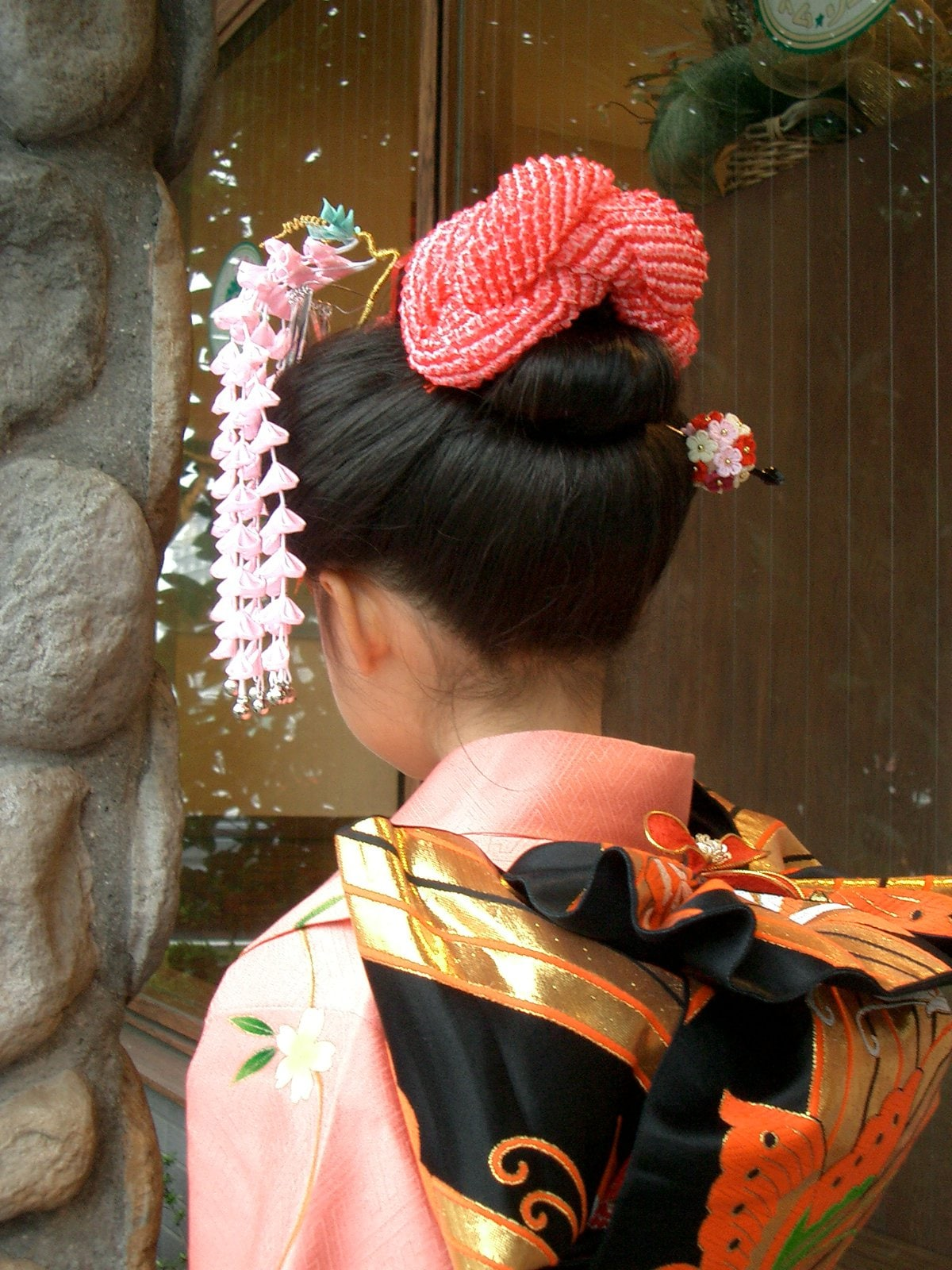 【七五三】 日本髪ヘアセット 現金決済のみのイメージその2