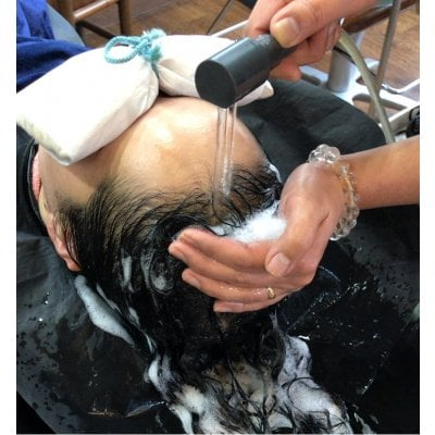 頭皮環境が気になる方必見!!【頭寒足熱美容法】 頭皮リラクゼーションエステ(90分)  クレジット不可
