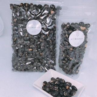 【北海道産】 煎り黒豆 80g 冷え性・細毛・乾燥肌の方に最適