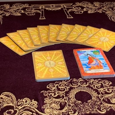 【期間限定ポイントアップ&送料無料!】八百万の神 オラクルカードマット