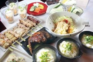 鶏三昧コース〜蒸・焼・揚etc・・・鶏肉をさまざまな料理で