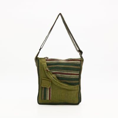【送料無料】ネパールの手作りゲリコットンバッグ④