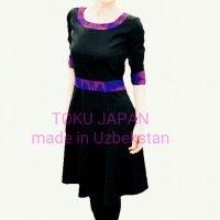 O様専用フレアスカートタイプ/春のワンピース/ウズベキスタンの伝統模様/アトラスのオーダーメイドお洋服