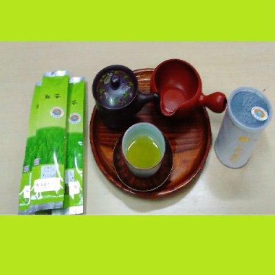 酵素栽培の静岡産煎茶(29年収穫)