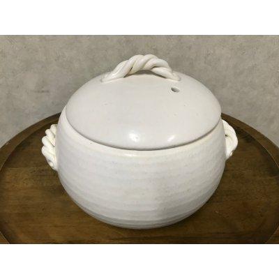 無鉛 遠赤土鍋(御飯用 よもぎ蒸し用)