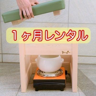 【1ヶ月レンタル】yomogina家庭用よもぎ蒸しセット