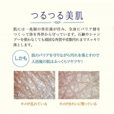美肌美髪になれる入浴剤プレミアムホットタブ重炭酸湯Bio10錠の画像4