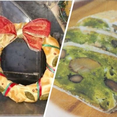 【大高店】 12月7日・9日・12日・15・日午後・16日 体験パン教室「クリスマスリースのパン」「抹茶シュトーレン」