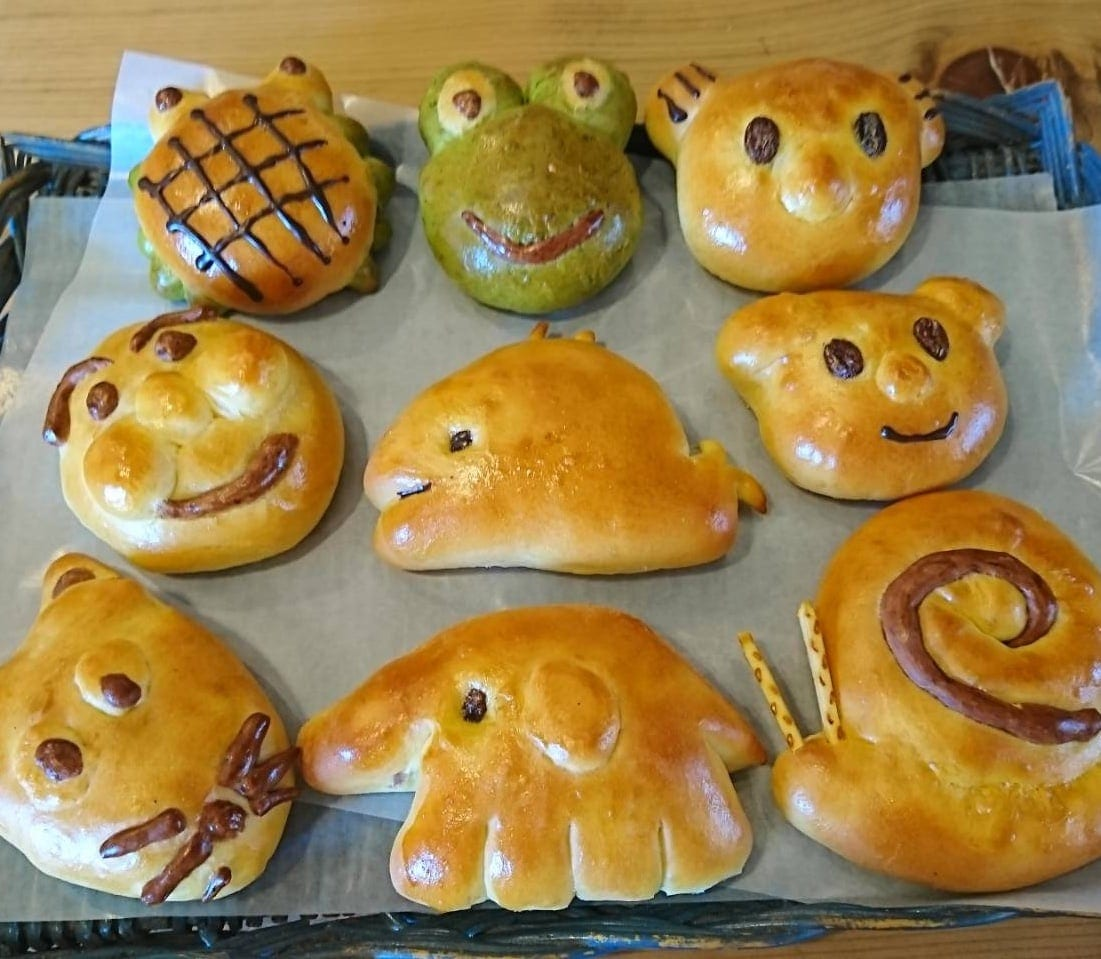 【幸田本店】☆夏休み☆ ダーシェンカ 親子パン作り体験教室のイメージその1