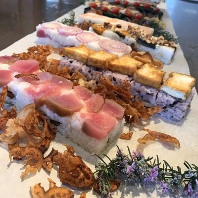 (現地払い)Hakko okazu 甘酒と酢を使ったベジ発酵押しずしのお弁当レッスン 2/19(水)