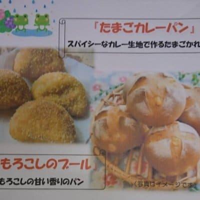 【幸田店】6月6日・12日・21日・24日・27日 ダーシェンカ体験パン教室「たまごカレーパンととうもろこしのブール」