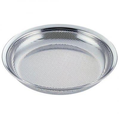 【ユキワキッチンボールシリーズ】 パンチング盆ザルボール15cm<目詰まりしにくく、ほつれの心配が無いステンレスパンチング材は業務用で愛用される本格派キッチンウェア。組み合わせで用途が広がります。>