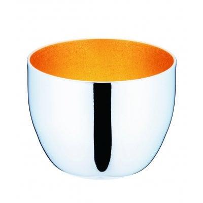 メイドイン燕の逸品 みがきマイスター ぐい吞み 箔調仕上げ 85(ml)<ユキワブランドが手掛けた堅牢で美しいステンレスぐい呑み。お酒を美味しく引き立てると共に、金箔張りを思わせる内面24金メッキ仕上げは和の祝い事の席に最適です>(ギフト包装・のし紙対応)