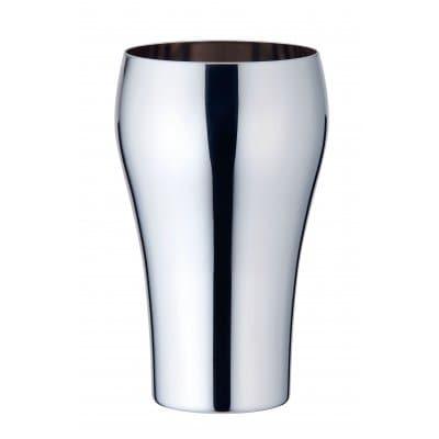 【メイドイン燕の逸品】YUKIWA ビアタンブラーM(一重構造)<ユキワブランドが手掛けた堅牢で美しいステンレスタンブラー。お酒を美味しく引き立てると共に、見た目にも綺麗な鏡面仕上げは各種プレゼントに最適!>【ギフト包装・のし紙対応】