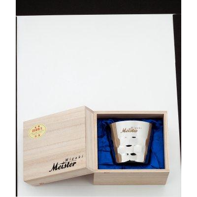 【メイドイン燕の逸品】Migaki Meister オールドファッション 桐箱入<燕の職人が丹精込めて仕上げた堅牢で美しい二重構造ステンレスタンブラー。お酒を美味しく引き立てると共に、見た目にも豪華な内面24金メッキ仕上げと桐箱入は慶事の贈答品にぴったり!>【ギフト包装・のし紙対応】