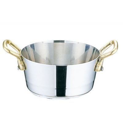 プチクッキング鍋 両手テーパー深型鍋 8(cm)