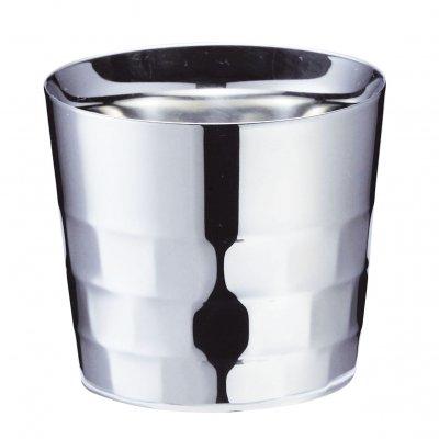 【メイドイン燕の逸品】YUKIWA 酒盃<ユキワブランドが手掛けた堅牢で美しい二重構造タンブラー。お酒を美味しく引き立てると共に、見た目にも綺麗な鏡面仕上げは各種プレゼントに最適!>【ギフト包装・のし紙対応】