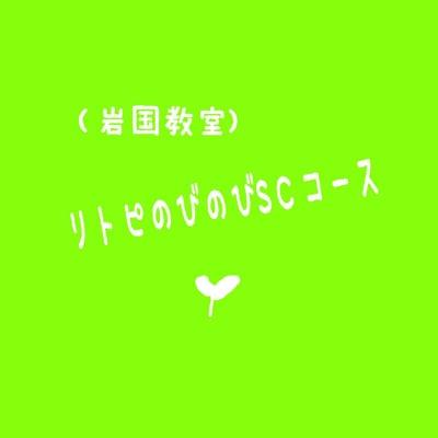 【岩国教室】リトピのびのびコース【SC】(グループ&個人併用レッスン)月会費