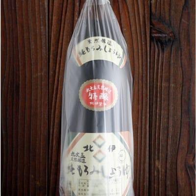 北伊醤油 純もろみしょうゆ特醸(本醸造)900ml