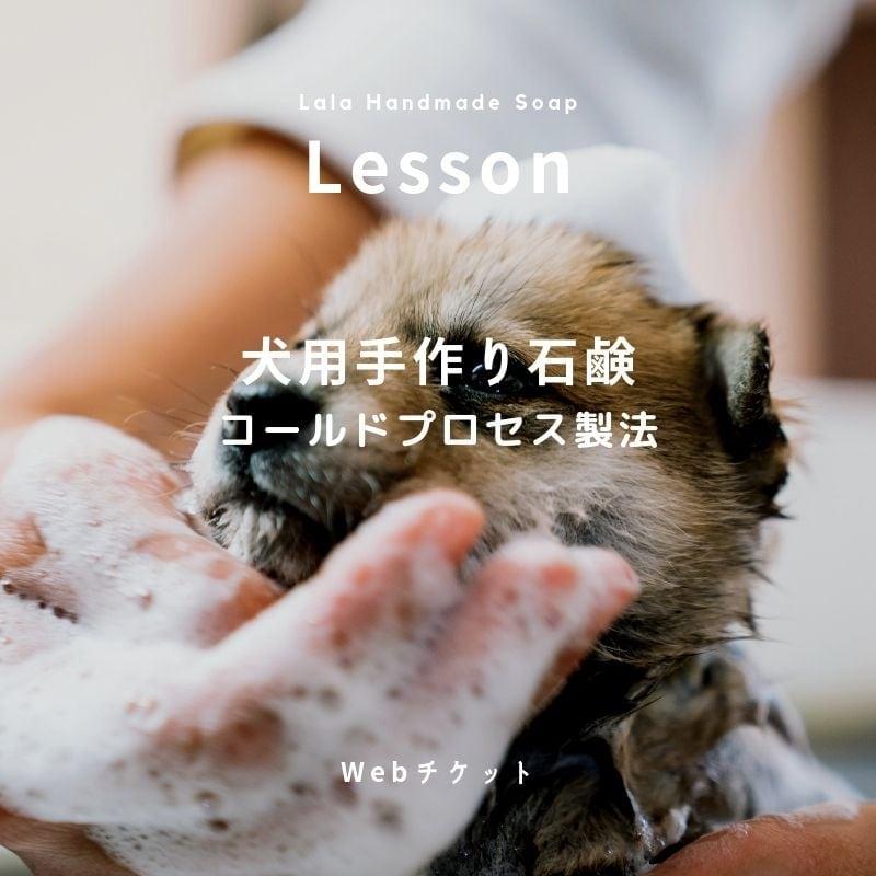 コールドプロセス製法犬用石鹸作り レッスン かわいい愛犬のために環境に配慮した無添加石鹸作りの基本をマスター!のイメージその3