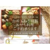 お重2段(1〜2名さま用)+お重代 【台所 玉ねぎ 特製おせち「凛」】
