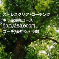 今、話題の ストレスクリア®コーチングキャラ爆発コース 90日/288,000円