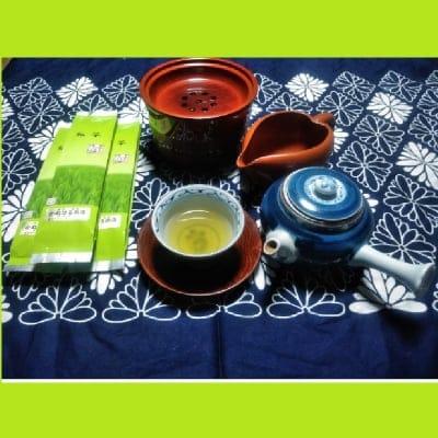 30年新茶入荷しました!! 酵素農法煎茶100g3本セット