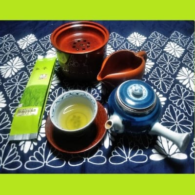 30年新茶入荷しました!! 酵素農法煎茶100g1本