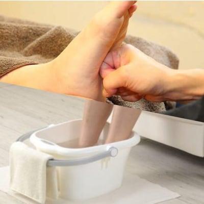 足の疲れ完全修復(足湯付)60分