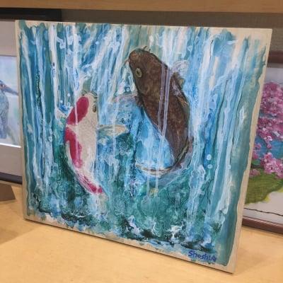 【原画】昇り鯉