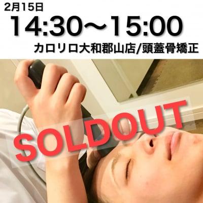 頭蓋骨矯正/カロリロ大和郡山店特別チケット/14:30~