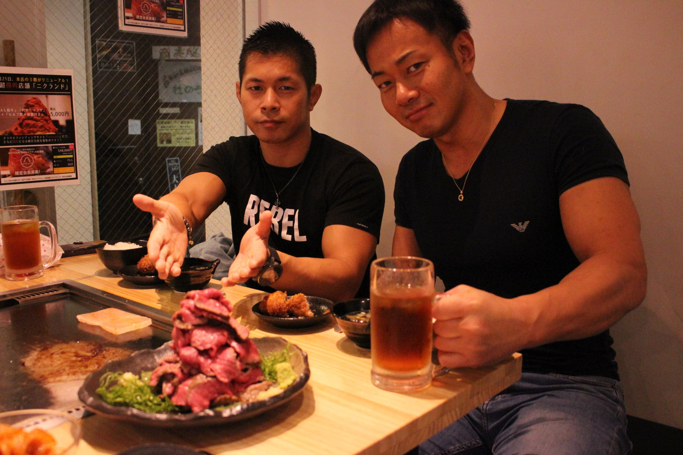 [FC会員様専用]限定20席!ドラゴンゲートディナーイベント・土井吉 in 肉のヒマラヤTEPPAN 赤坂(第一部18時スタート)のイメージその1