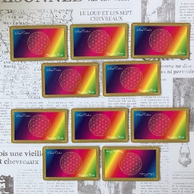 誕生日に隠された暗号を読み解く…数秘術を使い、魂の色がわかるソウルカラーセラピー   ペア セッション  (お相手未同席)