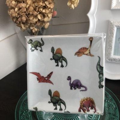 恐竜デザイン ケーキ皿