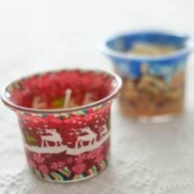【キャンドル2個】ルーマニア クリスマスマーケット販売商品