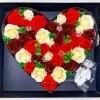 今年の5月は毎日|花|フレグランスソープフラワー|ハートベアLED付