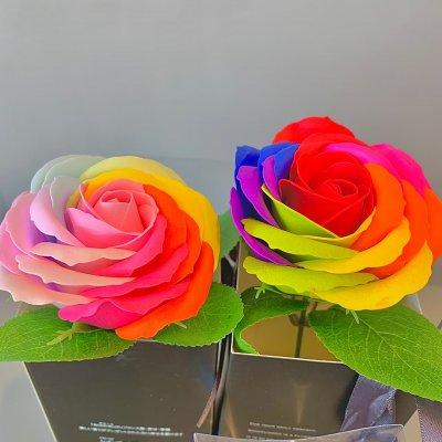 遅れてごめんね|母の日後のお届けになります母の日|花|ソープフラワー|...