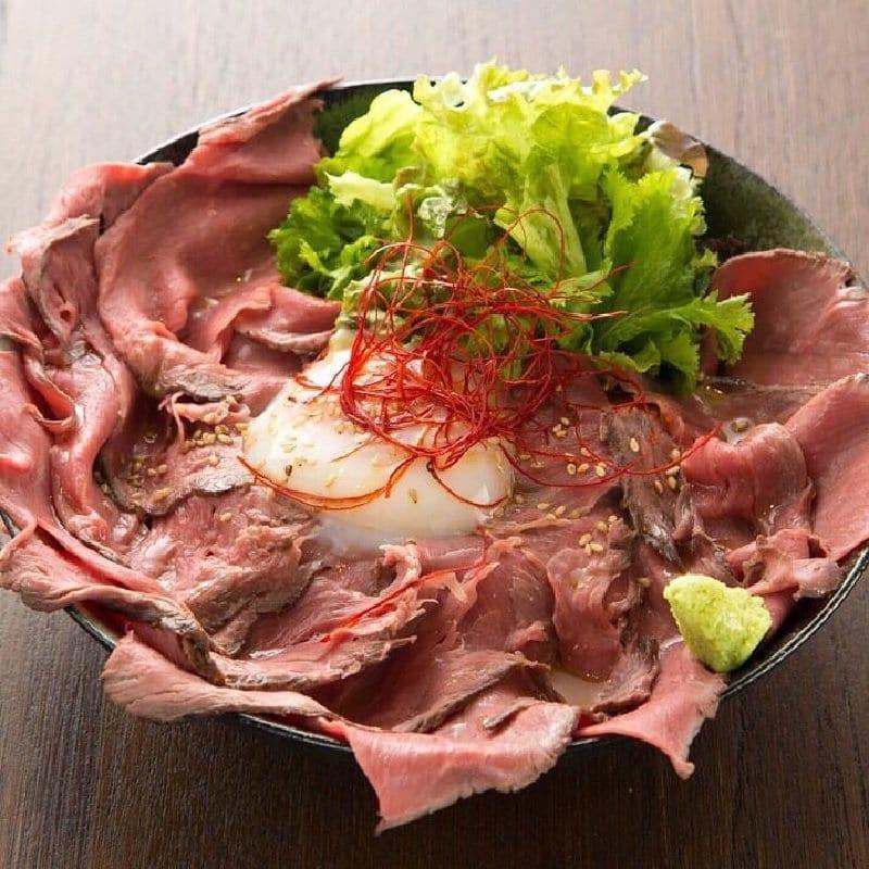 【現地払い専用】ローストビーフ丼 特大のイメージその1
