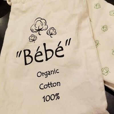 """オーガニックコットンの抱っこひも """"Bebe"""""""