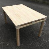 [セミオーダー]オリジナル家具:テーブル(天板の大きさを変更可能)