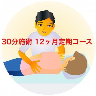 オステオパシーメディスト奈良桜井/30分施術/12ヶ月/定期コース