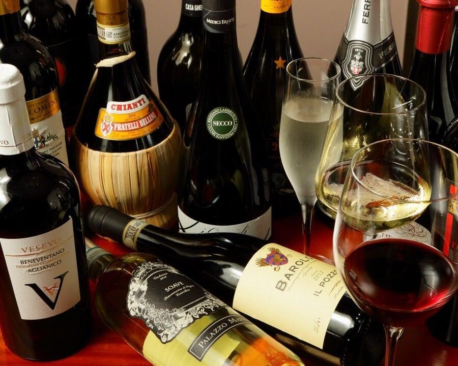 [複製]「イタリアワイン4種飲み比べセット」あなたのアモーレワイン見つけましょう♪のイメージその1