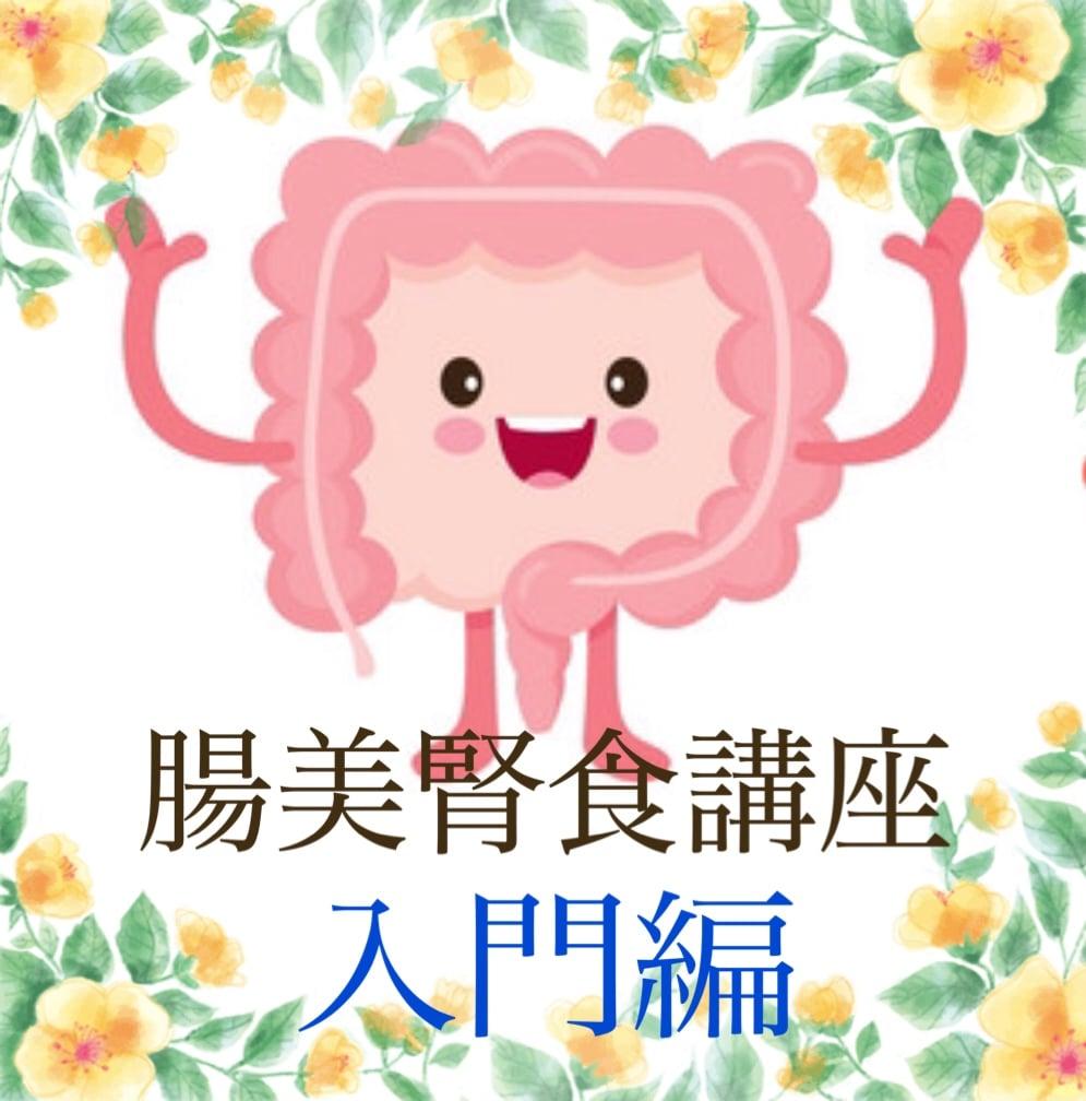 腸美腎食講座(入門編)のイメージその1