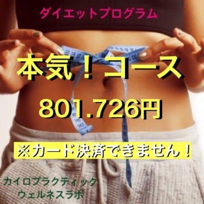 【ダイエットプログラム】本気コース(3ヶ月)※カード決済できません!