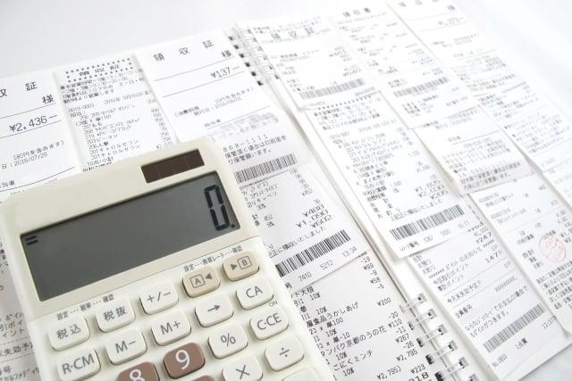 【データ入力B】確定申告のための経費入力作業(レシート・領収書500枚/月) 科目別仕分けデータ化のイメージその1