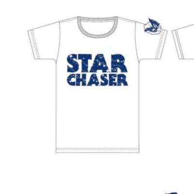 青と白のコントラストがキレイ|スターチェイサーTシャツ(Lサイズ)