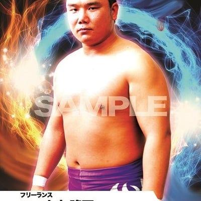 mevieプロレスカード「土方 隆司」(動画固定版)