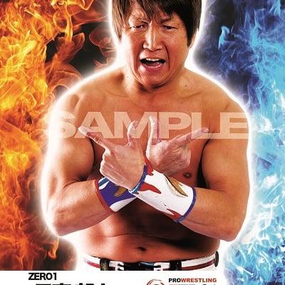 mevieプロレスカード「ZERO1 日高 郁人」(動画固定版)