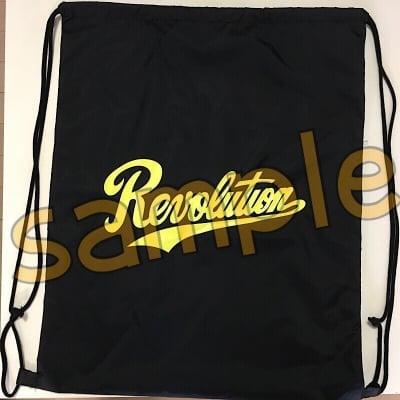 【NEW】Revolutionナップサック(ブラック)