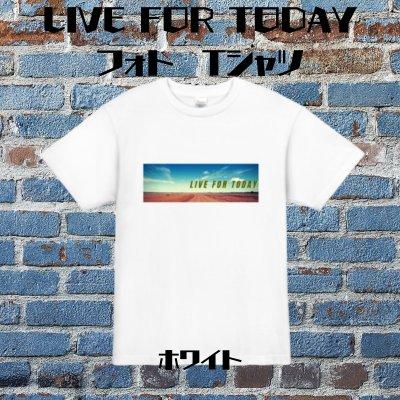 【ホワイト】LIVE FOR TODAYフォトTシャツ【天龍プロジェクト10周年記念】XXLサイズ